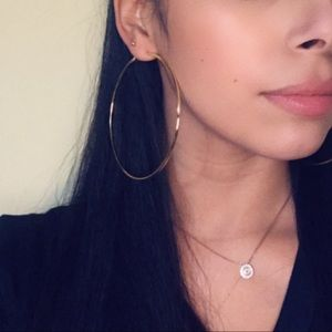 Jewelry - 🆕 Gold Hoop Earrings